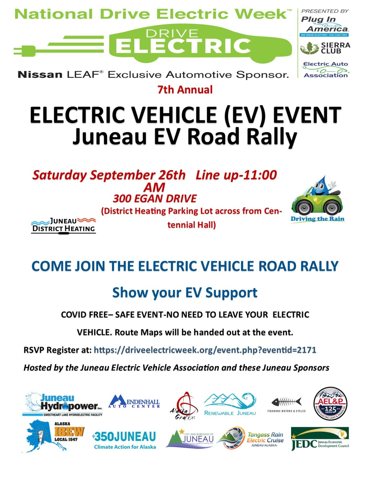 2020 Juneau EV ROAD RALLY